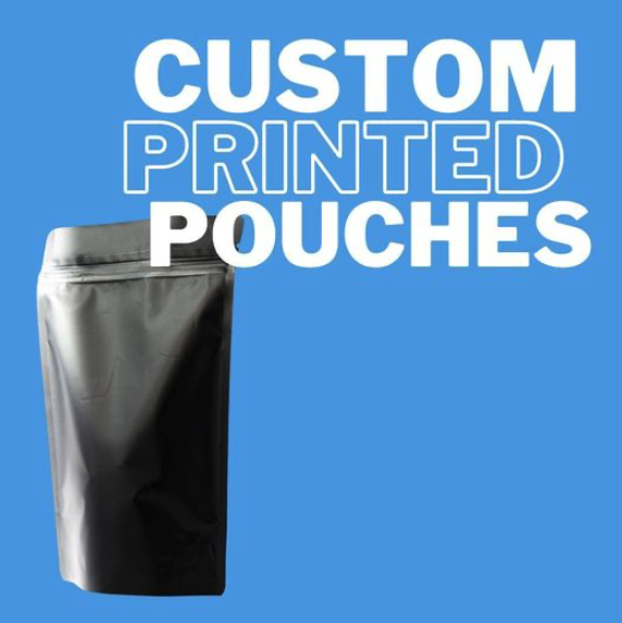 Custom printed pouch packaging